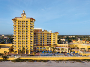 Exterior view of Plaza Resort & Spa.