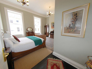 Guest room at Henrietta House.