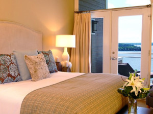 Guest Room at Touchstone on Lake Muskoka