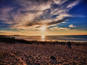 The beach at WindWater Hotel & Resort.