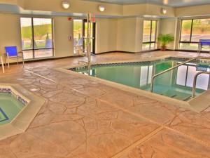 Indoor Pool at TownePlace Suites Scranton Wilkes-Barre