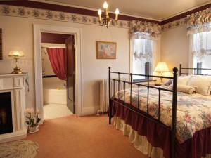 Guest Room at the Deutsche Strasse B & B