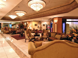 Lobby view at Amon Park Plaza Hotel.