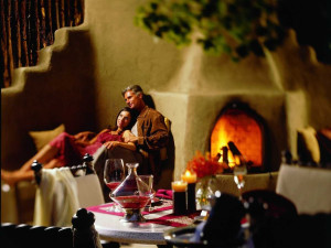 Dining at La Posada de Santa Fe Resort & Spa.