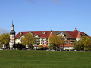 Exterior View of Bavarian Inn of Frankenmuth
