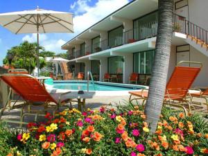 Outdoor pool at Sea Cliff Resort.
