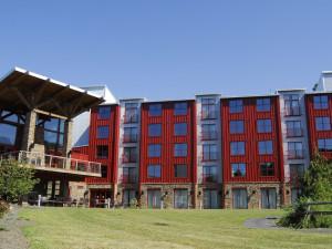 Exterior view of Bear Creek Mountain Resort.