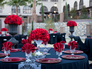 Wedding decor at Hotel Encanto.