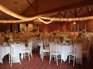 Wedding reception at Otsego Club and Resort.