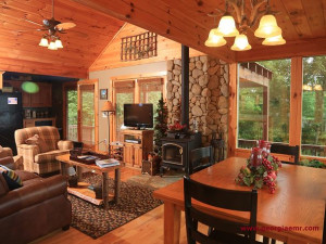Rental interior at Enchanted Mountain Retreats, Inc.
