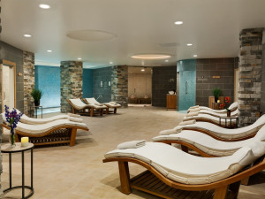 The spa at Elms Resort and Spa.