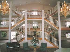 Lobby Area at Branson Towers Hotel
