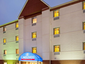 Exterior view of Candlewood Suites Tyler.