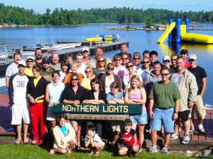 Family reunions at Northern Lights Resort Outfitting & Youth Quest.