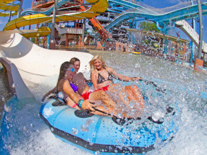 Water park near River City Resorts.