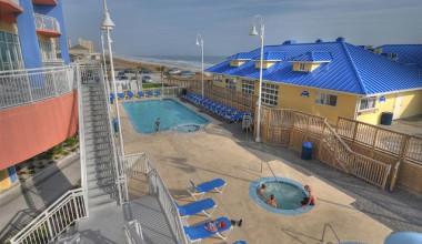 Rental pool at North Beach Realty.