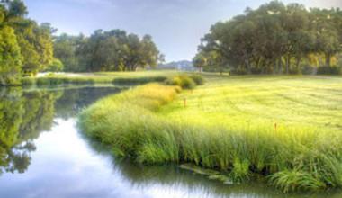 Golf course at Sea Palms Resort.