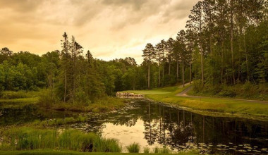 Scenic view at Grand View Lodge.