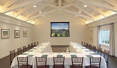 Conference Room at Meadowood Napa Valley.