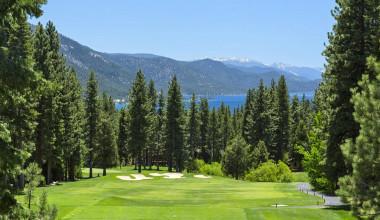 Golf course at Tahoe Getaways.