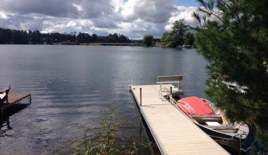 Lake view at Redman Rental Group.