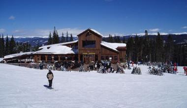 Skiing at The Lodge and Spa at Breckenridge.