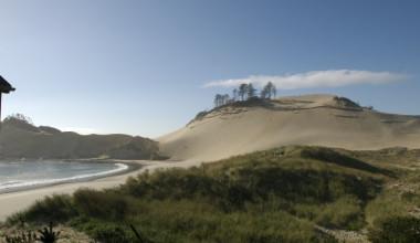 Pacific ocean view at Inn at Cape Kiwanda.