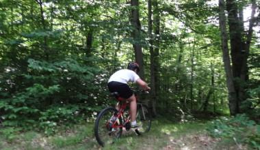 Biking at Garnet Hill Lodge.