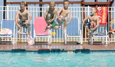 Water fun at The Shallows Resort.