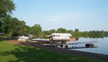 View from Barrett Lake Resort.