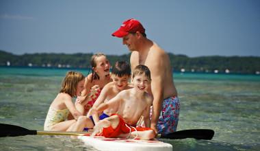 Water Activities at Chimney Corners Resort