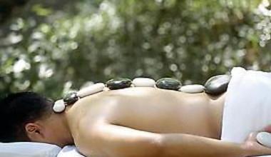 Spa massage at Meadowood Napa Valley.