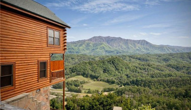Mountain view at Smoky Mountains Vacation Cabins, LLC.
