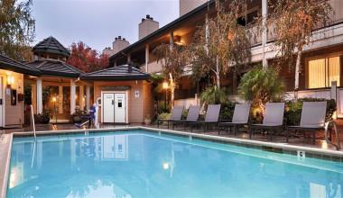 Outdoor pool at Best Western Sonoma Valley Inn & Krug Event Center.