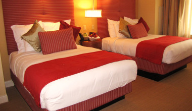 Guest Room at the Mount Airy Casino Resort