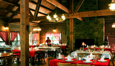 Dining at Colorado Trails Ranch.