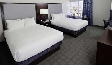 Guest Room at the Hilton Scranton & Conference Center