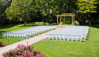 Wedding set up at The Ridge Hotel.