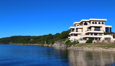 Exterior of D'Monaco Luxury Resort.