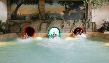 Water slides at Chula Vista Resort.