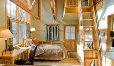 Loft room at Sleeping Lady.