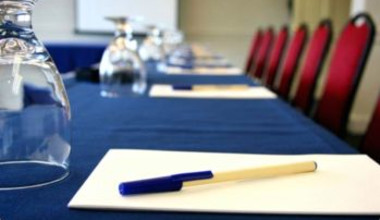 Conference room at Villa Roma Resort.