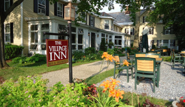 The Village Inn exterior.