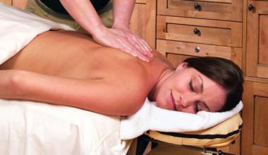 Back massage at Westgate Park City Resort & Spa.