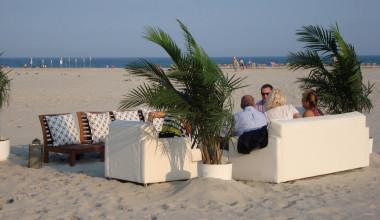 The beach at Hotel Icona.