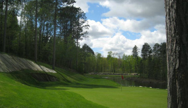 Golf course at Grand View Lodge.