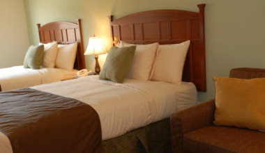 Guest Room at Brookstone Lodge