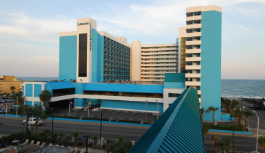 Exterior view of Landmark Resort.