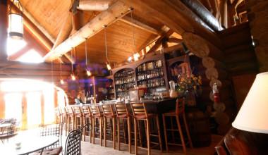 Bar at Le Grand Lodge Mont-Tremblant.