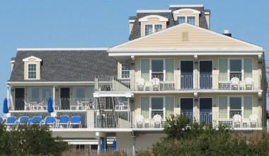 Exterior View of Fleur De Lis Beach Resort